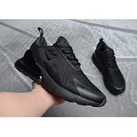 Men Nike Air Max 270 Black/Black