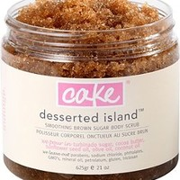 Cake Beauty Desserted Island Smoothing Brown Sugar Body Scrub