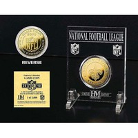 New Orleans Saints 24KT Gold Game Coin