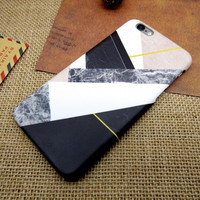 Geometry Marble Case for iPhone