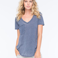 OTHERS FOLLOW Womens Pocket Tee   Knit Tops & Tees