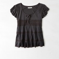 AEO LACE DETAILED TOP
