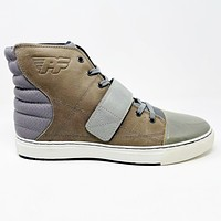 PF Flyers Astor Silver Brown Mens Sneakers Size 13 PM11FG1D