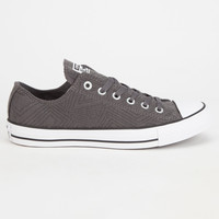 Converse Chuck Taylor All Star Jersey Quilt Low Womens Shoes Grey  In Sizes