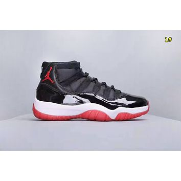 NIKE Jordan 11 Fashion New Women Men Mesh Sports Leisure Shoes 1#