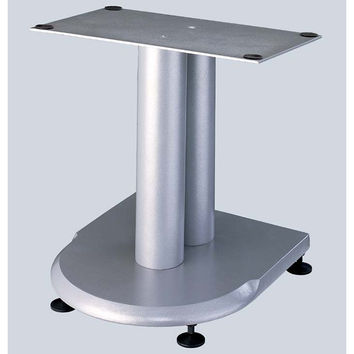 UF Series Center Speaker Stand Grey Silver Cast Iron