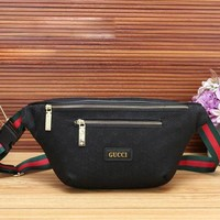 GUCCI latest trend style male bag single room diagonal men's bag men's Messenger bag
