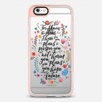 Jeremiah 29:11 iPhone 6s case by Noonday Design | Casetify