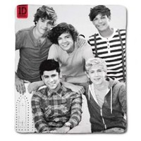 One Direction Fleece Blanket Bed Throw