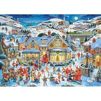 Ravensburger Which One's Santa Christmas Puzzle - Puzzle Haven