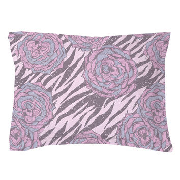Floral Hipster Pillow Shams