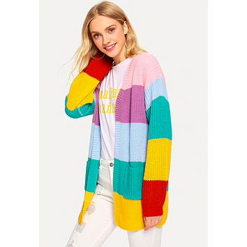 IT'S A COLORFUL WORLD CARDIGAN