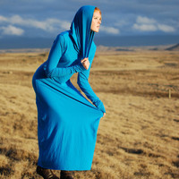 $150.00 Sustainable Hoodie Dress (Custom, 8 colors available) by SoulRole