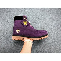 Timberland X Mitchellness X Nba Los Angeles Lakers Truck Boots