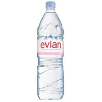 Evian 1.5 Liter Bottles - Case of 6