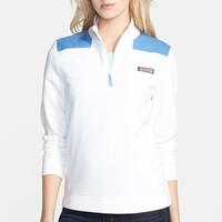 Women's Vineyard Vines 'Shep' Half Zip Shirt