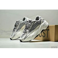 Adidas Yeezy 700 V2 Trending Men Stylish Retro Sport Running Shoes Sneakers Grey