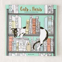 Cats In Paris: A Magical Coloring Book By Won-Sun Jang