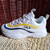 FILA Woman Men Fashion Sneakers Sport Shoes