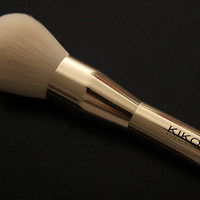 Kikos Brand Professional Makeup Brushes Rose Gold Powder & Blush brush cosmetics make up brushes kabuki kit pinceis maquiagem.