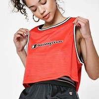 LMFON Champion Mesh Cropped Tank Top