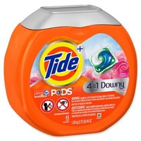 Tide® + 4-in-1 Downy® 43-Count April Fresh™ Laundry Detergent PODS™