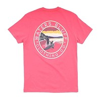 Stand Up Tee in Watermelon by Waters Bluff