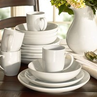 Great White Coupe Dinnerware