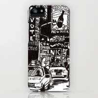 New York New York iPhone Case by Bianca Green   Society6
