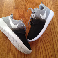 "Custom Nike Roshe Run ""Burnt"""