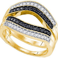 Diamond Fashion Ring in 10k Gold 0.55 ctw