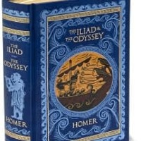 The Iliad and The Odyssey (Barnes & Noble Leatherbound Classics), Barnes & Noble Leatherbound Classics Series, Homer, (9781435110434). Hardcover - Barnes & Noble