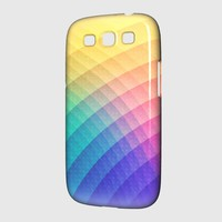 Fancy Spectrum Pattern Design (HDR) - Phone Case Samsung Galaxy S3 Premium Case | Spreadshirt