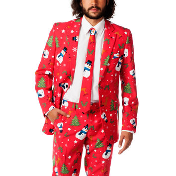 Pre-Order - The Ugly Christmas Sweater Snowman Dress Suit - Fall 2016 Delivery