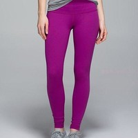 Lululemon Solid Color Casual Gym Yoga Running Pants Trousers Sweatpants