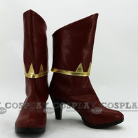 Pyrrha Shoes (1841) from RWBY - Tailor-Made Cosplay Costume