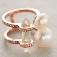 Samantha Wills Wild Magnolia Ring in Pearl Size: One Size Rings