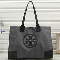 Tory Burch Women Fashion Pattern Leather Handbag Shoulder Bag