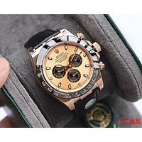 ROLEX Fashion Men Women's Classic mechanical watch diamond men and women waterproof quartz watch
