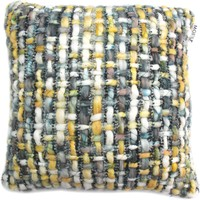 Karley Feather Cushion 20X20 Contemporary Modern Green