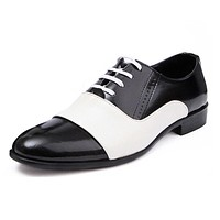 Patent Soft Leather Wedding Party Oxford Shoes