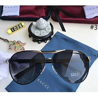 Gucci 2018 men and women trend polarized metal sunglasses F-A-SDYJ #3