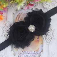 Lovely Kids Baby Girls Toddlers Infant Flower Headband Hair Bow Band Accessories On Sale NW