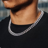 Diamond Cuban Link Necklace (10mm)