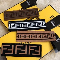 FENDI FF Wool Headband