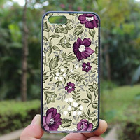 flowers,Lavender flowers,iphone 4 case,iPhone4s case, iphone 5 case,iphone 5c case,Gift,Personalized,water proof
