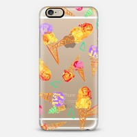Ice Cream Cones iPhone 6 case by Aaryn West | Casetify
