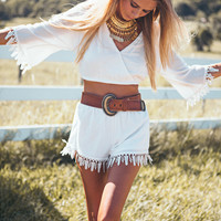 Polar Tassel Set | SABO SKIRT