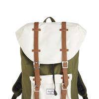 Herschel Supply Co. Rustic, Colorblocking, Travel, Scholastic Out in the Field Backpack