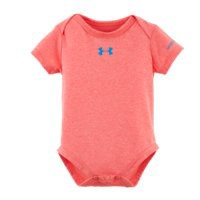 Under Armour Girls Newborn UA Co-Mingled Bodysuit